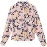 Gant Flower Print Voile Boy-Shape Shirt