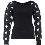 Terranova Sweatshirt with print sleeves