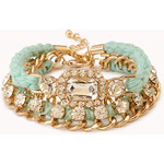 Forever 21 Touch-of-Glam Bracelet Set
