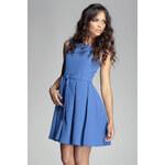 Šaty M083 modrá S