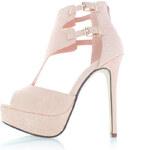 Světle růžové sandály Rinjani EUR40