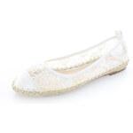 Biele balerínky Ramini 39