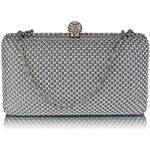 Dámské psaníčko LS Fashion ( LSE00278) - stříbrná