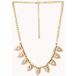 Forever 21 Street-Cool Spiked Bib Necklace