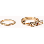 Forever 21 Touch-of-Glam Ring Set