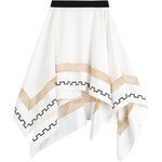 Vionnet Printed Asymmetric Skirt