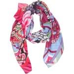 Fialový vzorovaný šátek Desigual