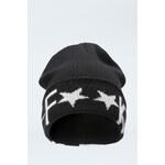 "Tally Weijl Black ""F**k Yeah"" Knitted Hat"