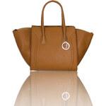 GbyG kožená kabelka žluto - oranžováGlamorous by Glam