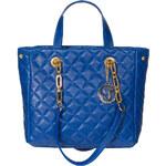 GbyG prošívaná kožená kabelka modráGlamorous by Glam