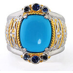 Dvoubarevný prsten
