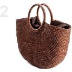 Stoklasa Lýková taška 30x40cm s podšívkou (1 ks) - 2 hnědá