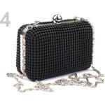 Stoklasa Kabelka 9x13 cm Pearl (1 ks) - 4 černá