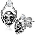 I-Moda Ocelové náušnice Ghost Skull DAMSON th-gec033