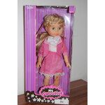Mix hračky Panenka 46cm - v růžových šatech