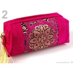 Stoklasa stok_700608 Taška kosmetická DIANA vyšívaná (1 ks) - 2 růžová výrazná