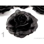 Stoklasa Růže do vlasů Ø 70mm ZDENA (1 ks) - 1 černá