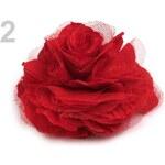 Stoklasa stok_100965 Brož Ø 90mm růže (1 ks) - 2 červená