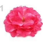 Stoklasa Ozdoba do vlasů Ø12 cm (1 ks) - 1 růžová ostrá