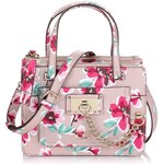 Guess Forget Me Not Little Status Satchel Floral Bag