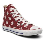 SALE -20% : Converse (Women) - Chuck Taylor All Star Big Star Print Hi W (Red)