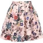Meruňková květovaná sukně Closet
