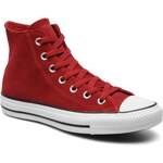 Converse (Women) - Chuck Taylor All Star Suede Hi W (Red)