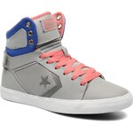 Converse (Women) - All Star 12 Leather Mid W (Grey)