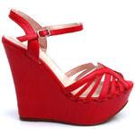 Prvotřídní červené sandály