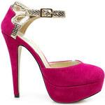 Úchvatné růžové dámské sandály