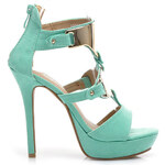Zelené čarovné sandály