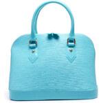 Skvostní modrá dámská kabelka