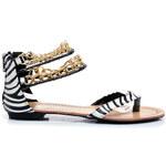 Zvířecí pohádkové dámské sandály