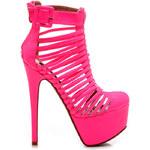 Růžové velkolepé sandálky