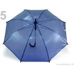 Stoklasa Dámský průhledný vystřelovací deštník (1 ks) - 5 Imperial Blue