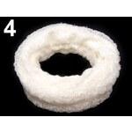 Stoklasa stok_710421 Nákrčník pletený (1 ks) - 4 béžovobílá