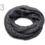 Stoklasa Nákrčník pletený (1 ks) - 3 šedá