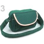 Stoklasa Dívčí taška 14x23 cm s dlouhým uchem (1 ks) - 3 zelená malachitová