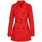 Tally Weijl Red Light Trench Coat