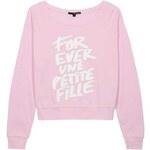 "Tally Weijl Pinkes Sweatshirt mit ""Forever""-Print"