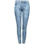 Tally Weijl Blue Second Skin Jeans in Acid Wash
