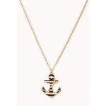Forever 21 Under The Sea Pendant Necklace