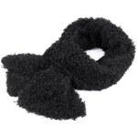 Stoklasa stok_710510 Šála 18x180cm dvojitá imitace persiánu (1 ks) - černá