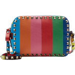 Valentino Rockstud 1973 Leather Camera Bag