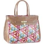 I´M WALKING dámská kabelka syntetickou barvou v barevném tisku