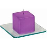 Artium Skleněný tácek (pod svíčku) - YQE7185-1C
