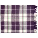 Vlněná deka Naya Plum 130x180