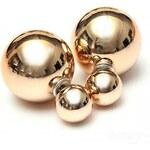 Náušnice 3v1 Perly zlaté C12588
