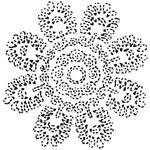 Papírové ubrousky Lotus flower - 50 ks
