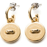 Tommy Hilfiger Button Earrings